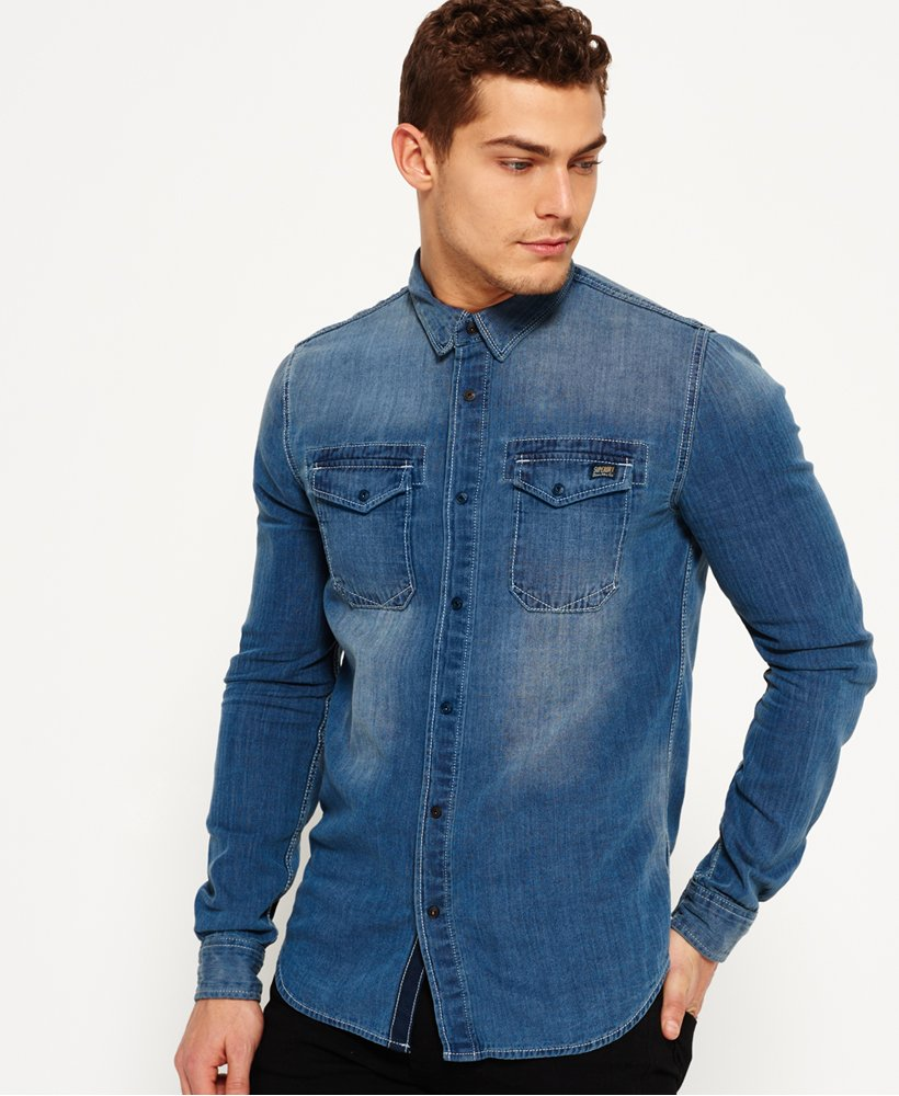 Superdry Roadster Denim Shirt
