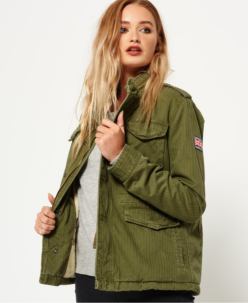 military jacke damen winter