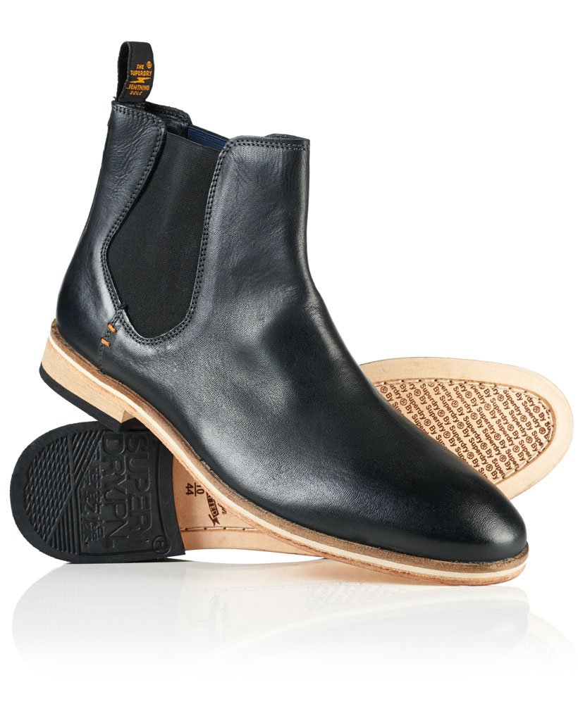 Superdry Meteora Chelsea Leather Boots thumbnail 1