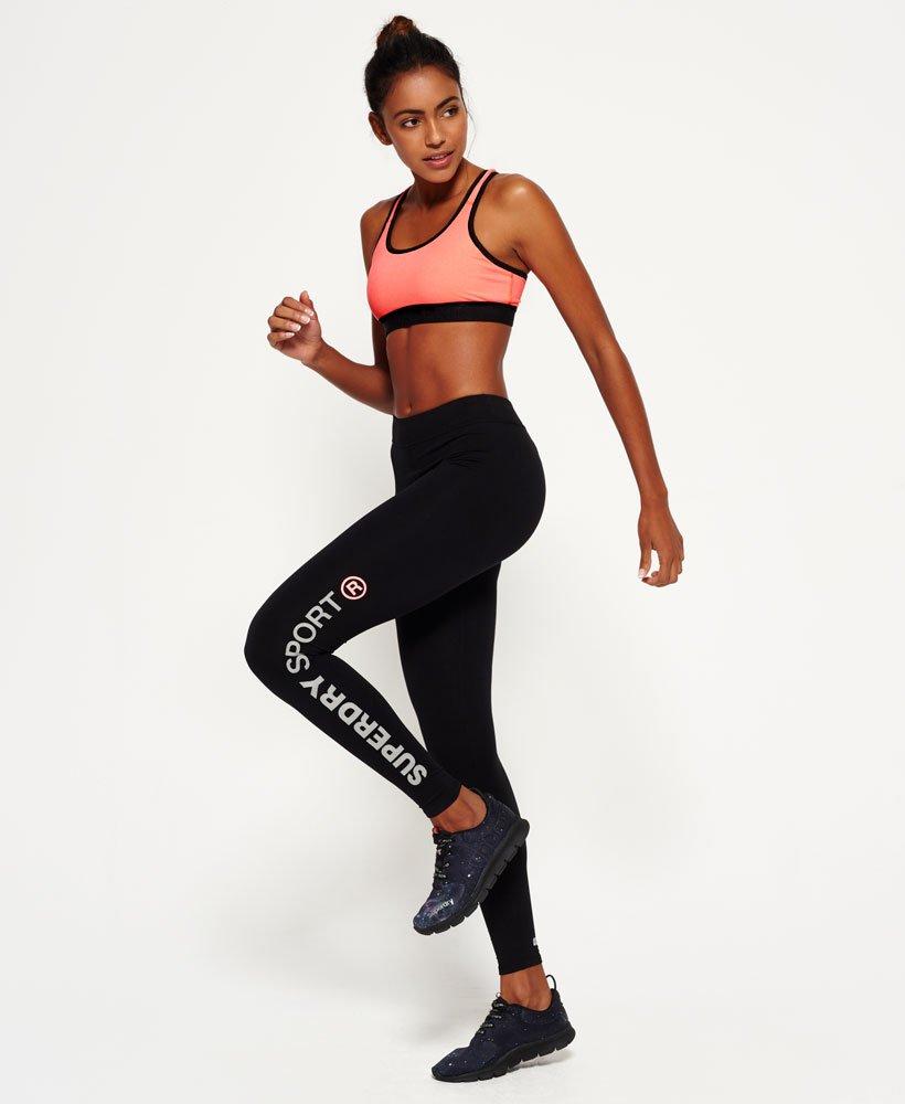 c3313e25e0 Womens - Core Gym Bra in Fluro Coral Grit