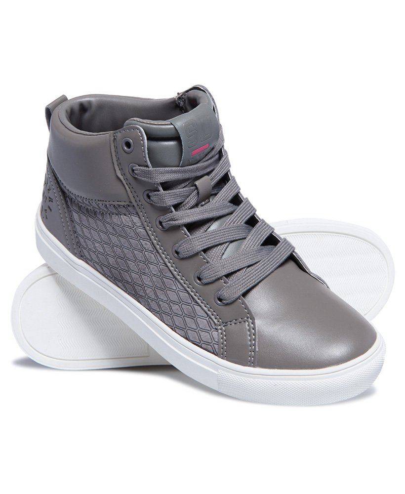 Superdry Ava High Top Trainer  thumbnail 1