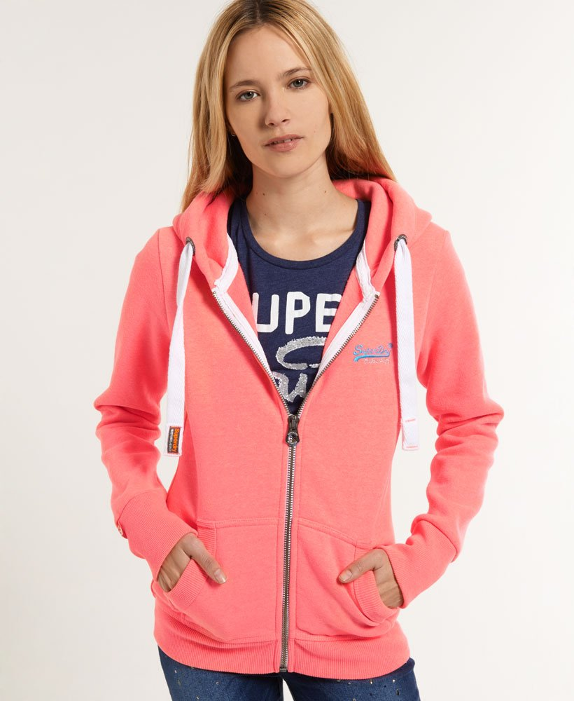 Superdry Sweat à capuche et tirette Orange Label Sweats