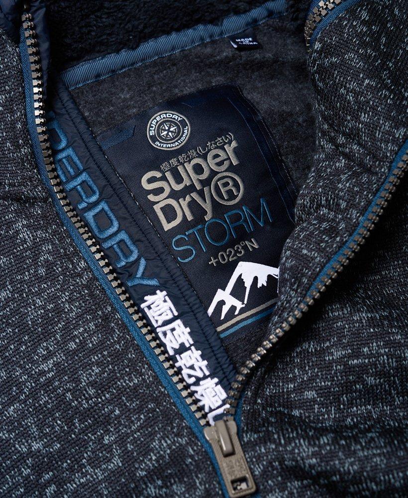 Superdry Storm huvtröja med dubbla dragkedjor Killar Huvtröjor