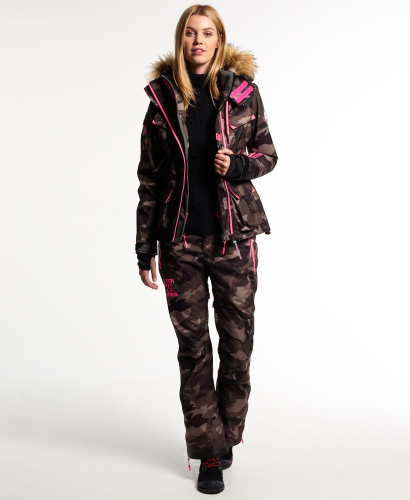 Superdry Pantalon de ski Ultimate Snow Service Femme Pantalons