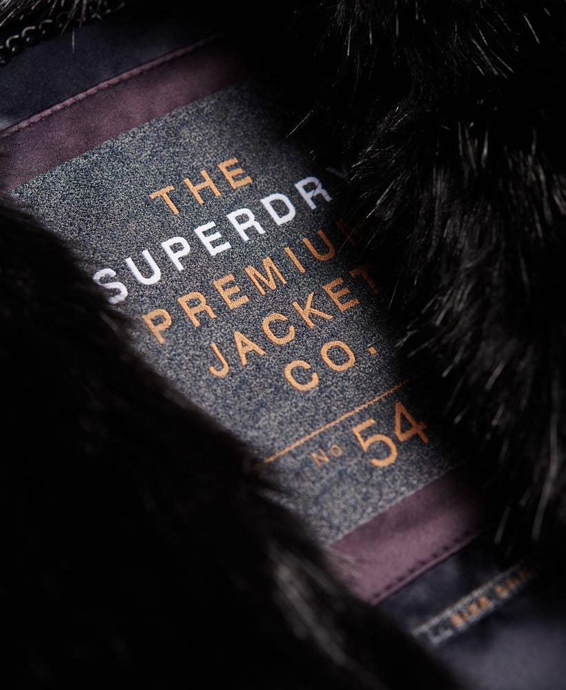 Superdry Gilet sans manches en fausse fourrure Luxe