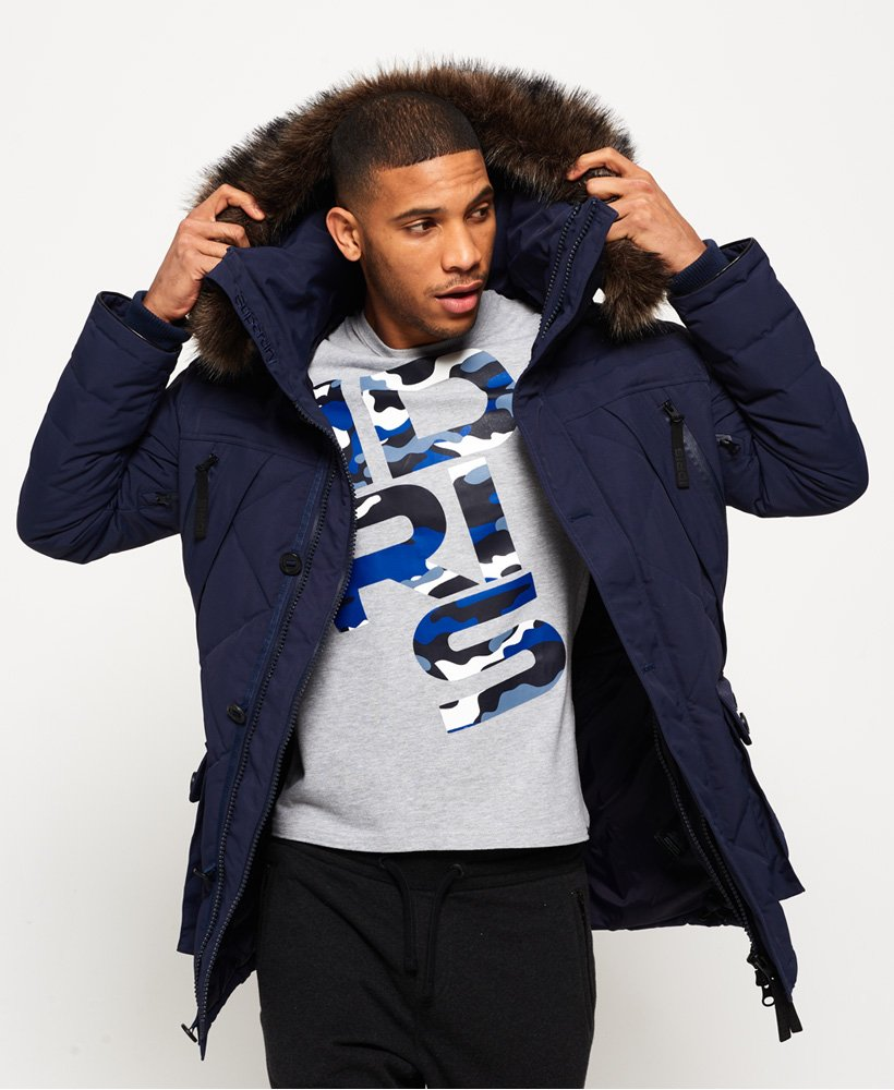 Superdry 1st AD Down Quilted Parka Jacket