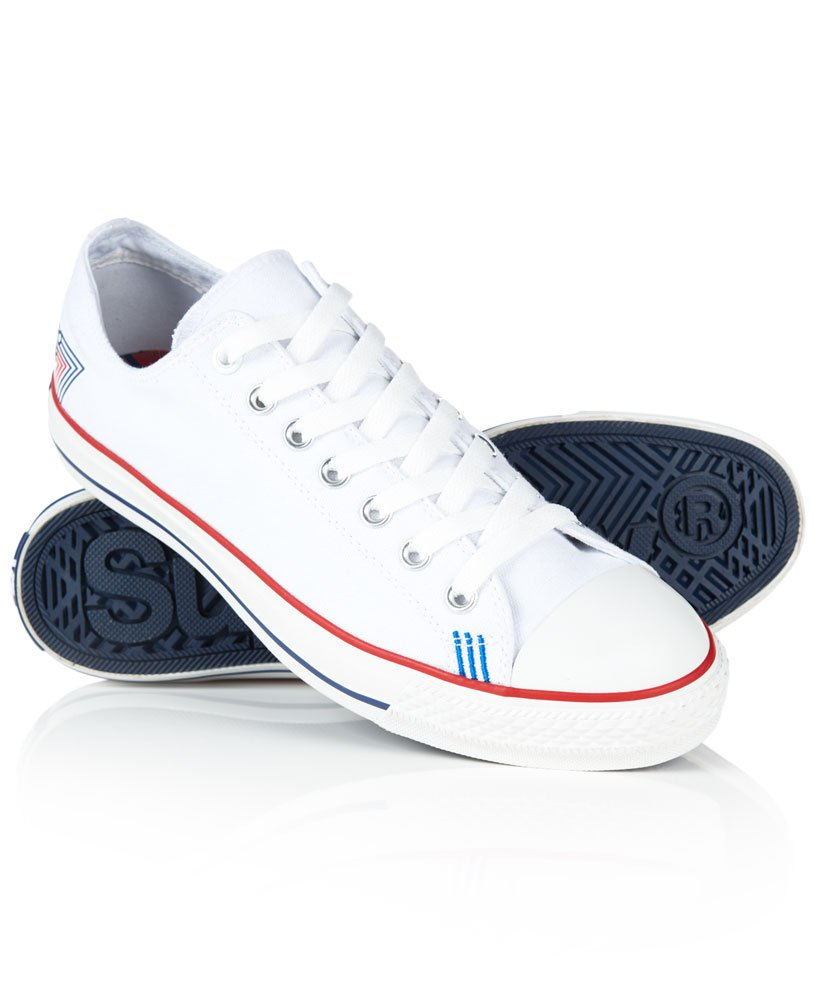 Superdry Retro Sport Low Top Trainers 0