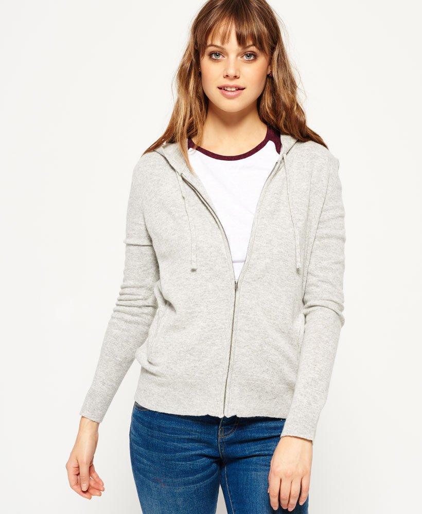 Superdry Luxe Knitted Zip Hoodie
