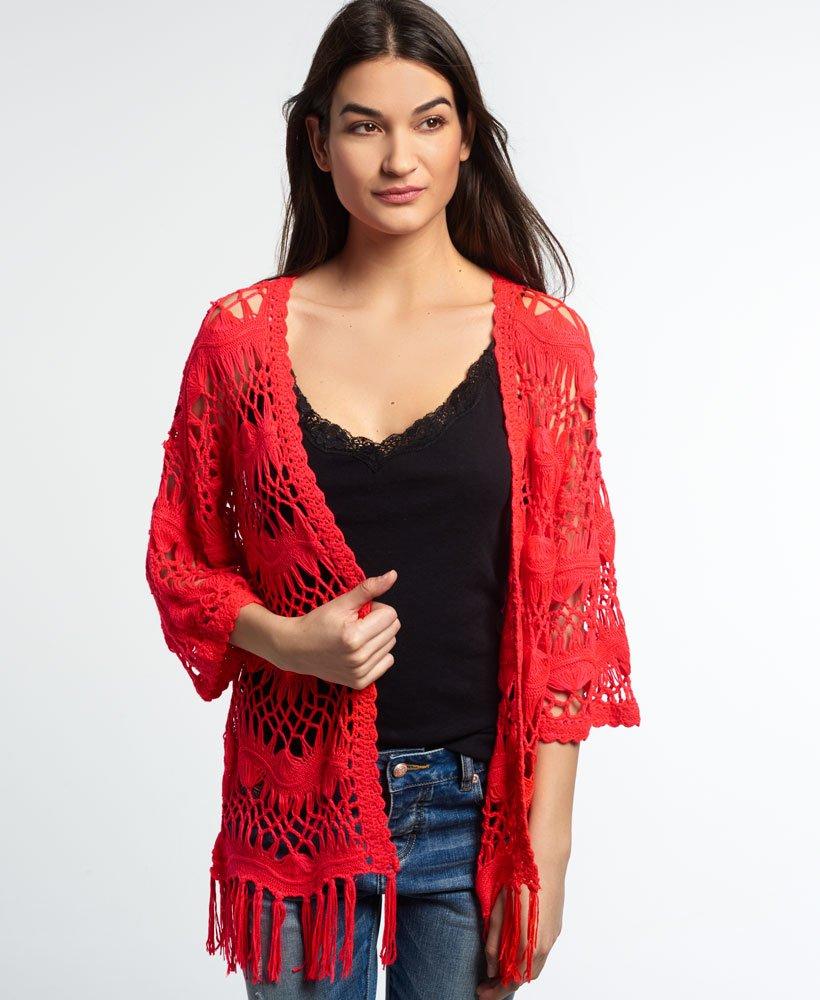 Superdry Kimono en crochet Willow