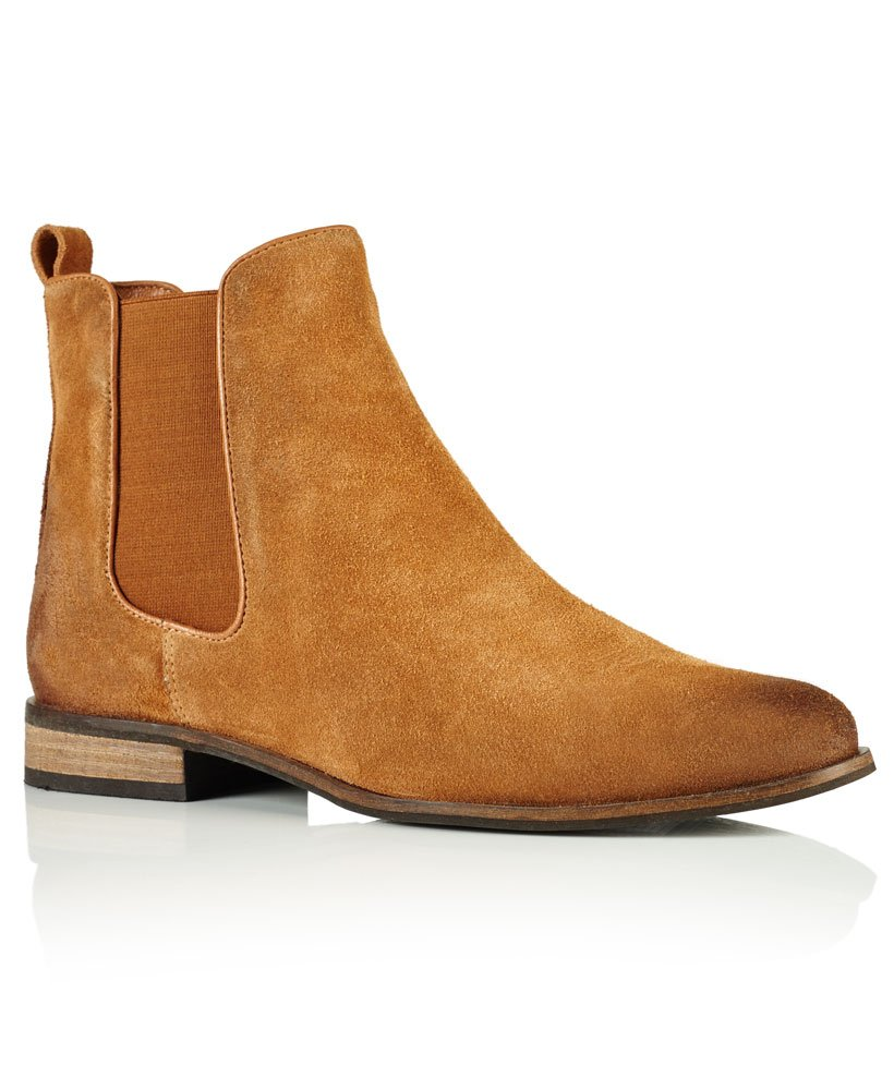 Superdry Millie Suede Chelsea Boots thumbnail 1