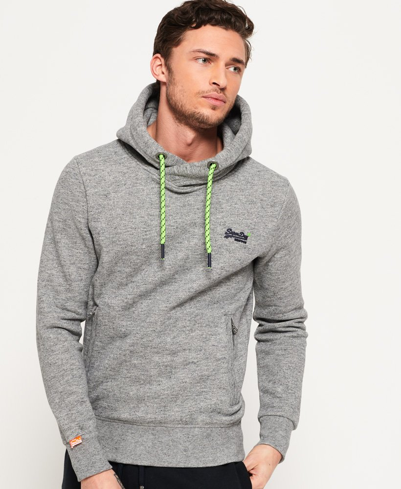 Superdry - Sweat à capuche Hyper Pop Orange Label - Sweats à capuche ... 7441aa36d994