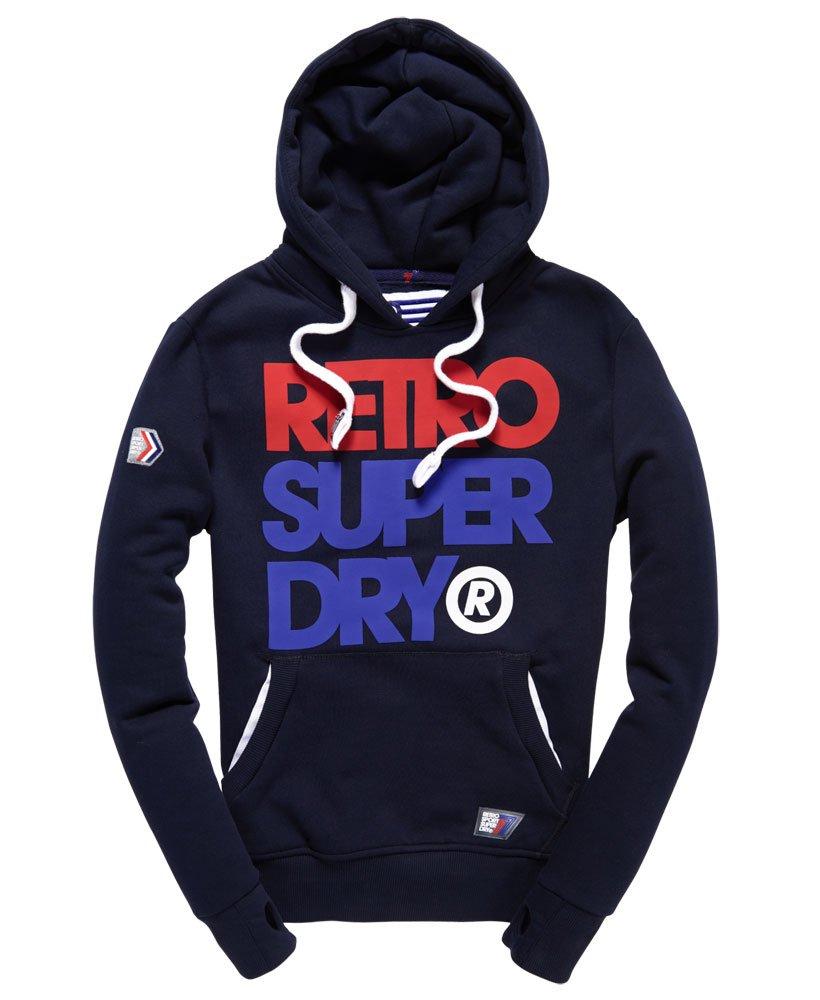 Superdry - Sweat à capuche Retro - Sweats à capuche pour Homme 3a011d9eb937