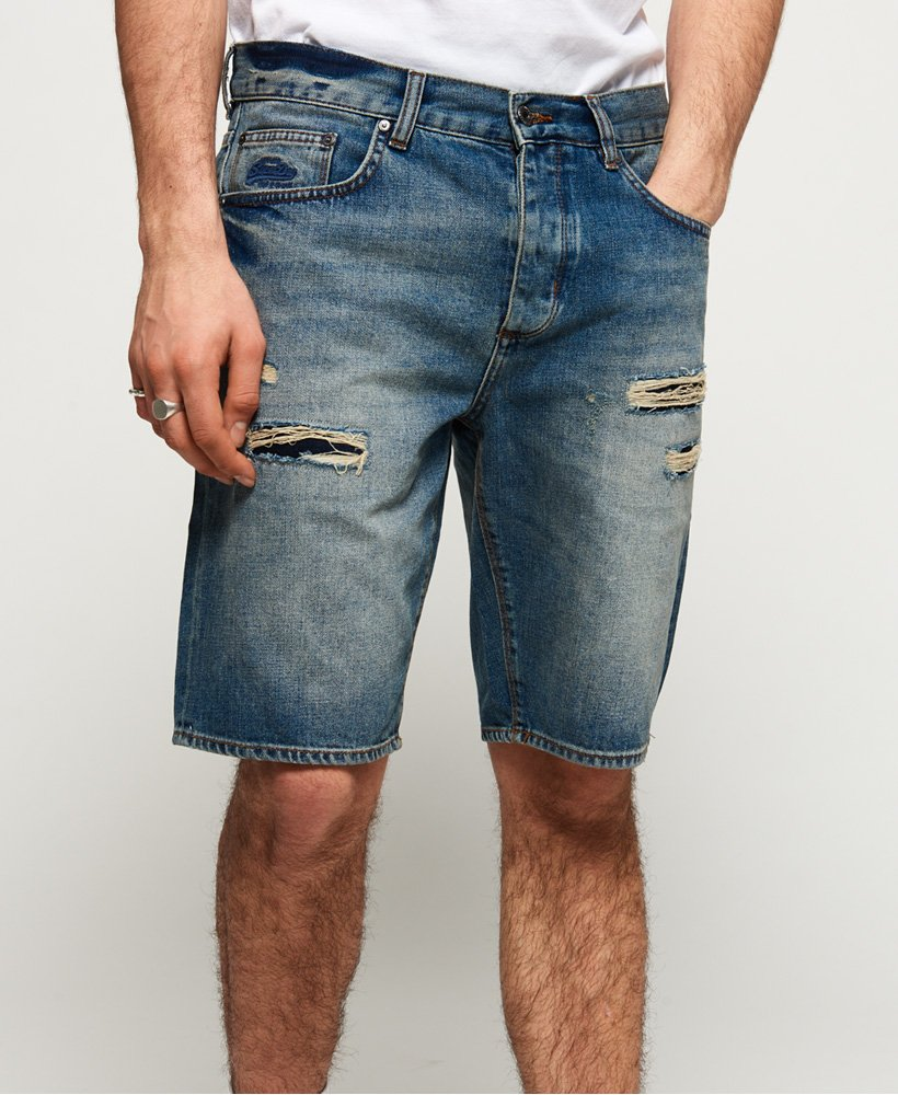 Superdry Loose Denim Shorts thumbnail 1