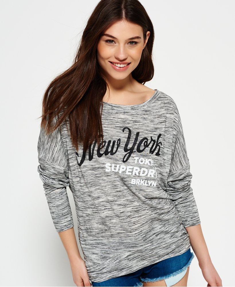 Superdry Womens Superdry Womens Sports Slouch Top