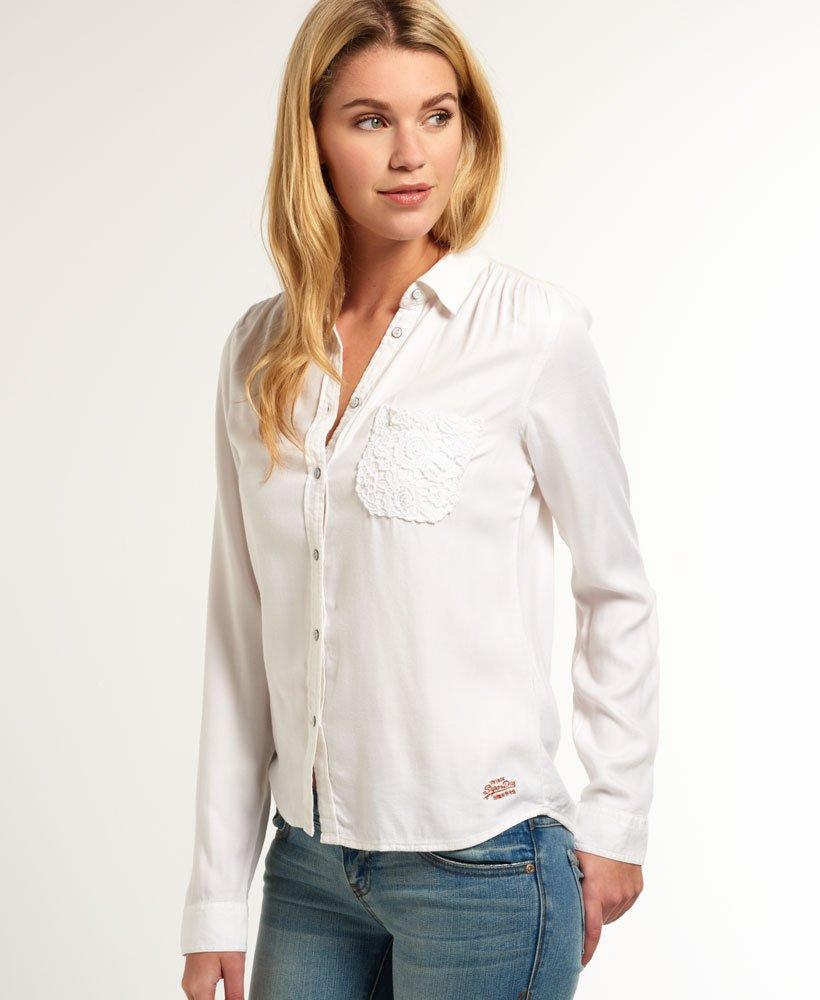 Superdry Camisa Lace Pocket