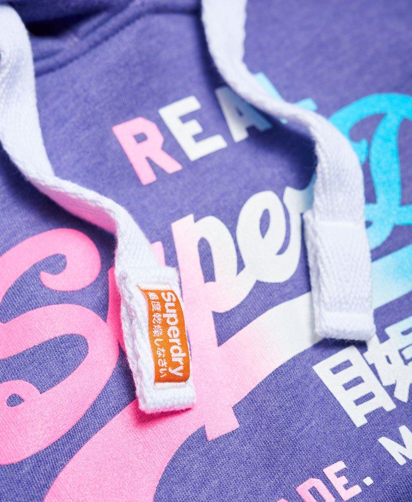 Logo À Capuche Superdry Dégradé Sweat Vintage Sweats AgwxZ0qx