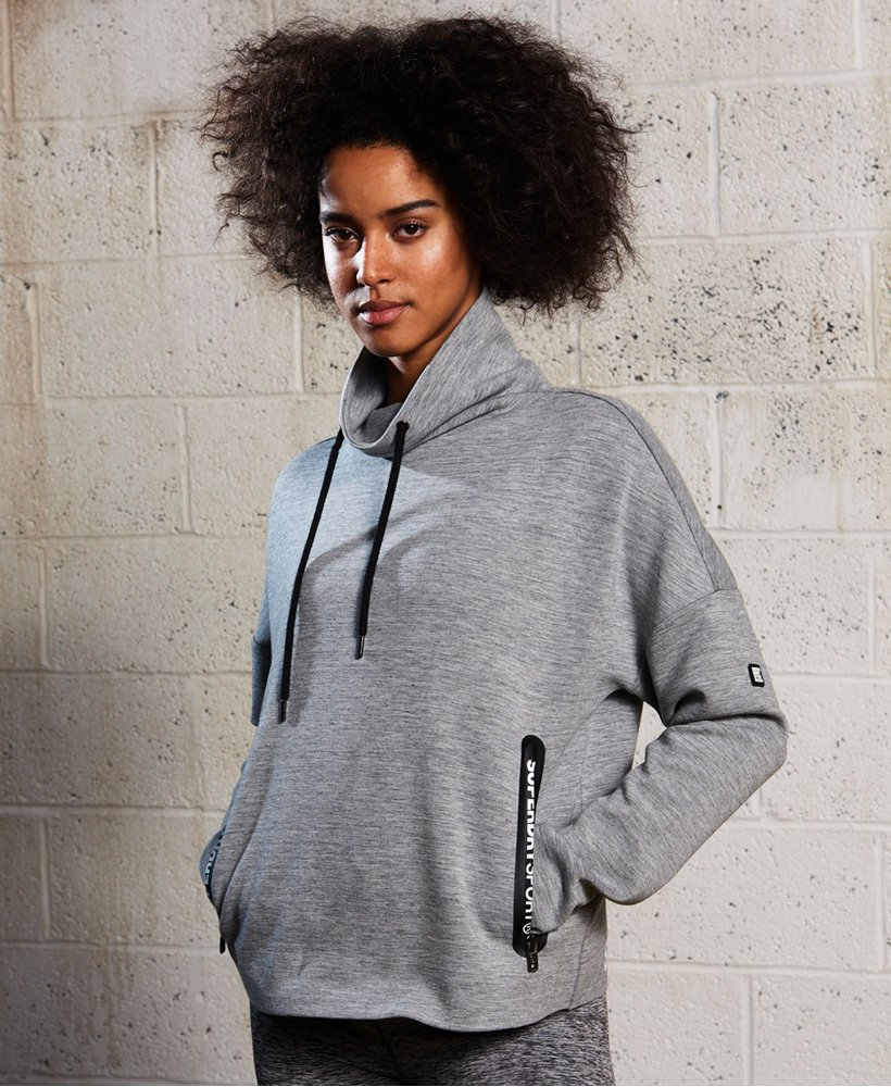 Superdry SD Sport Gym Tech Luxe Funnel Hoodie