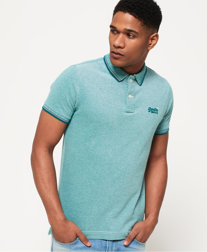 Superdry Classic Poolside Pique Polo Shirt thumbnail 1