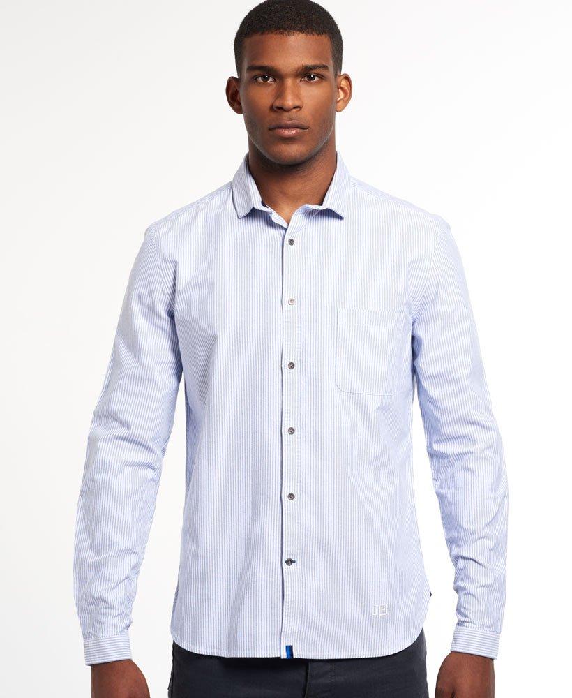 Superdry Director Oxford Skjorta - Killar Idris skjortor 1d57ece44194a