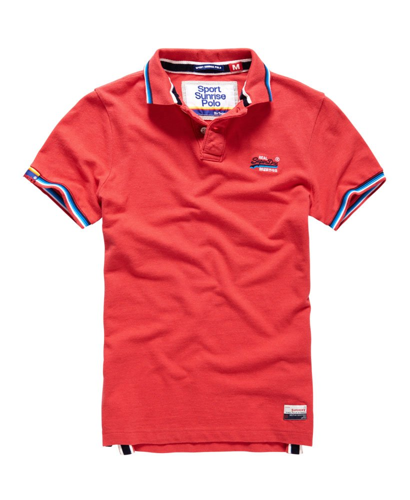 Superdry Sport Sunrise Polo Shirt Mens Polo Shirts