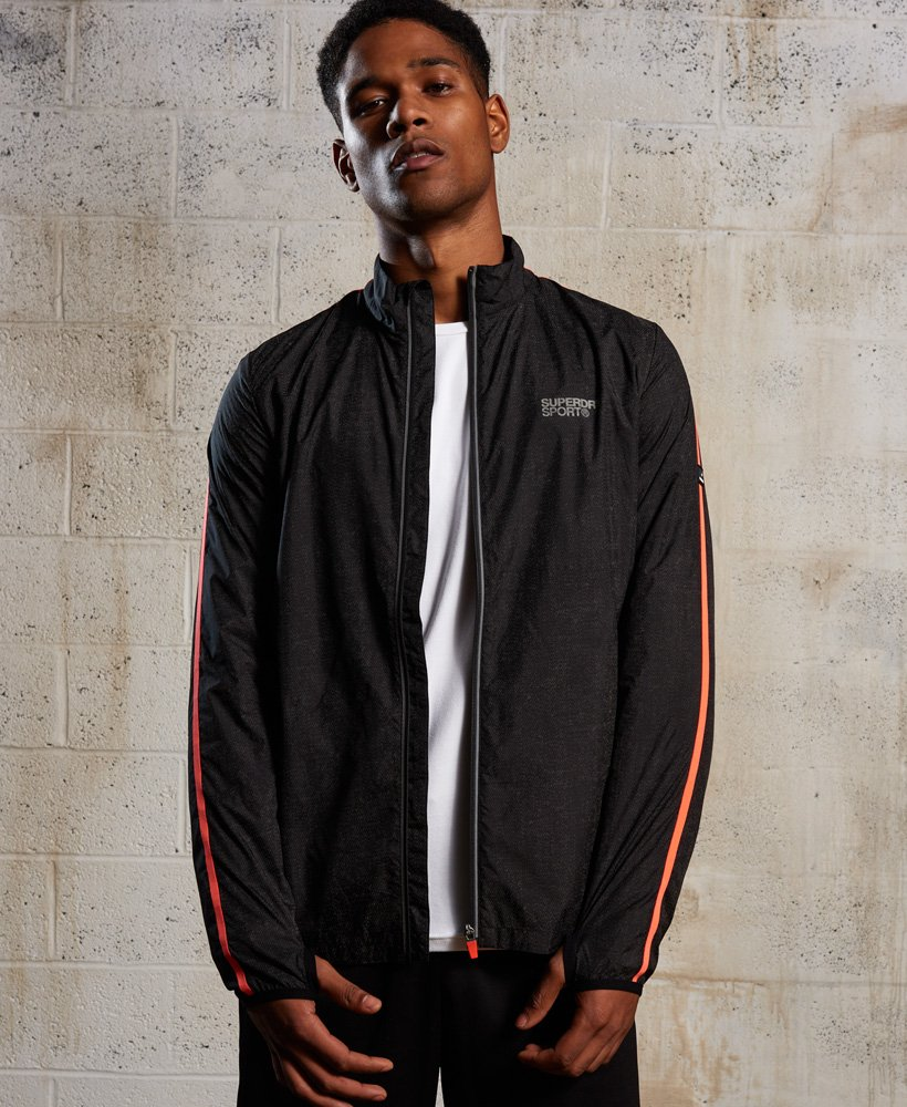 Superdry Core Running Shell Reflective Jacket