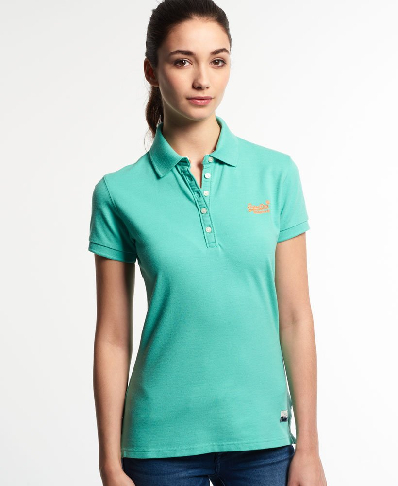 Mujer Superdry Tops Classic Para Polo RIwrIq8
