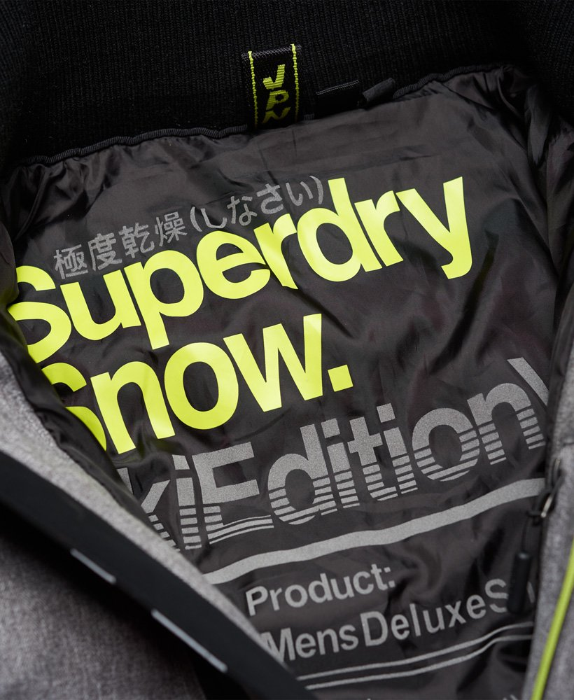 Superdry Veste De Ski Deluxe Nordic Snow Carbon: