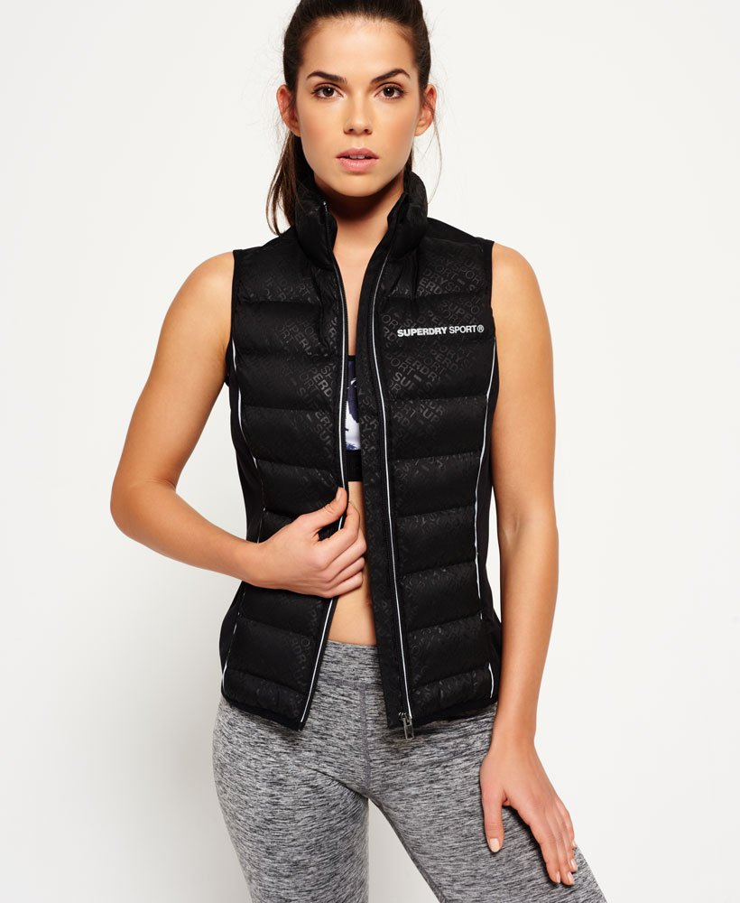Químico Subjetivo Ennegrecer  Superdry Sport Quilted Gilet - Women's Jackets and Coats