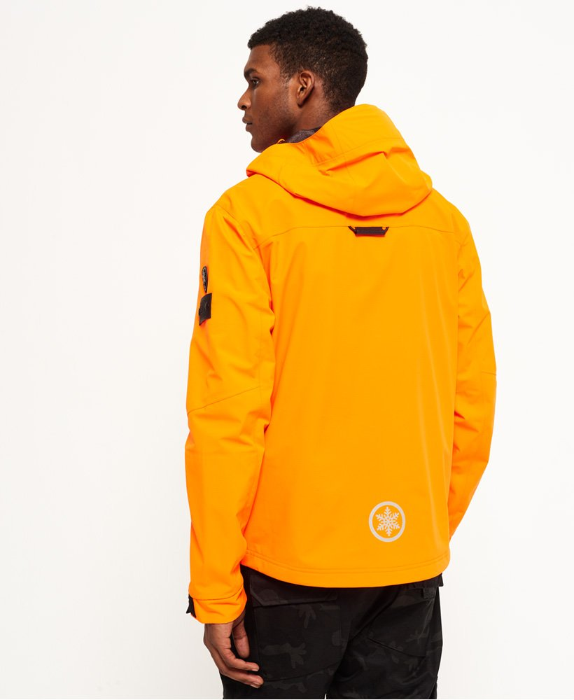 eee85fd8 Mens - Base Jumper Jacket in Strong Orange | Superdry