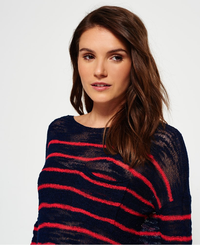 Superdry Rio Slub Pocket Knitted Top  thumbnail 1