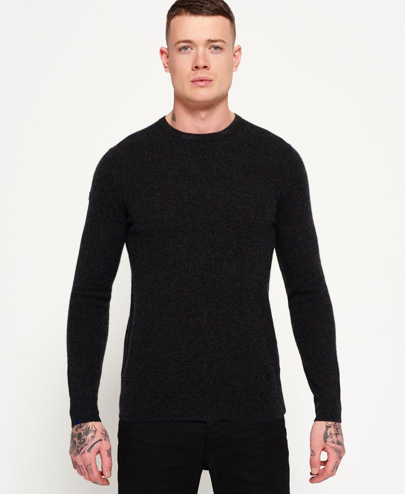 dc3c1d6b3 Superdry Leading Cashmere Crew Neck Sweater - Men s Sweaters