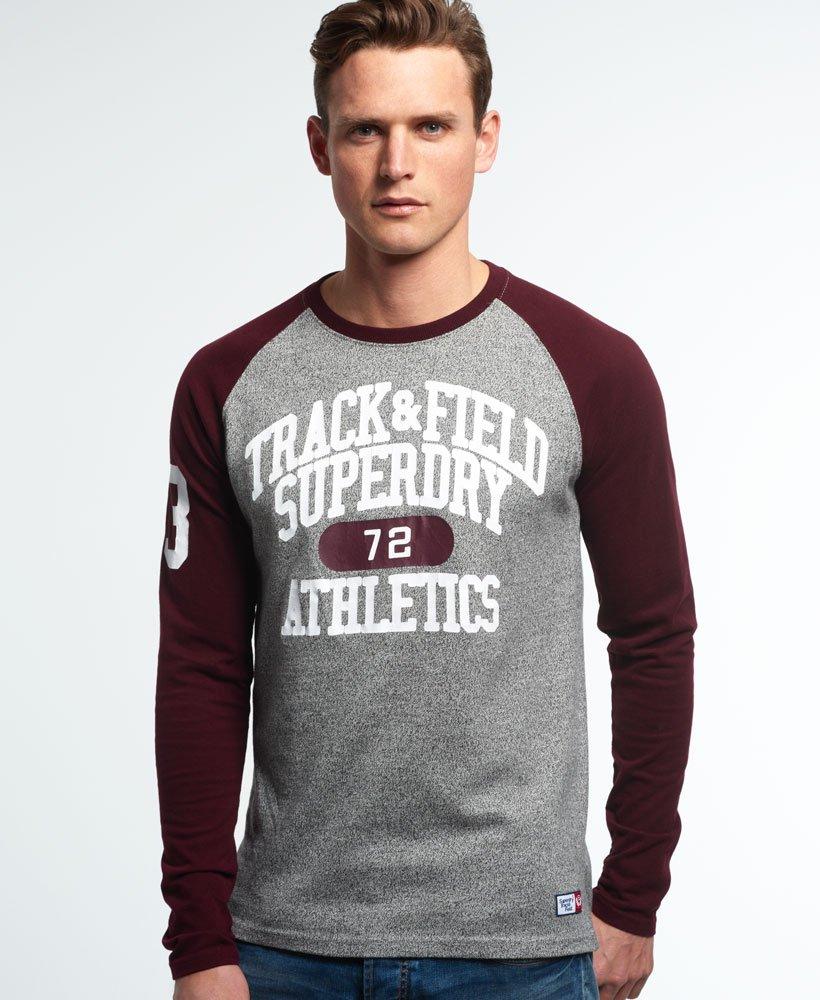 Superdry Trackster Baseball T-skjorte