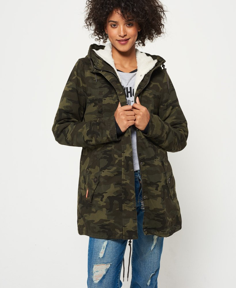 Superdry Rookie Sherpa Multi Jacket thumbnail 1