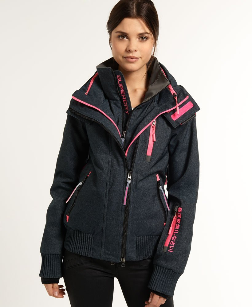Superdry Snow Wind Bomber Jacket thumbnail 1
