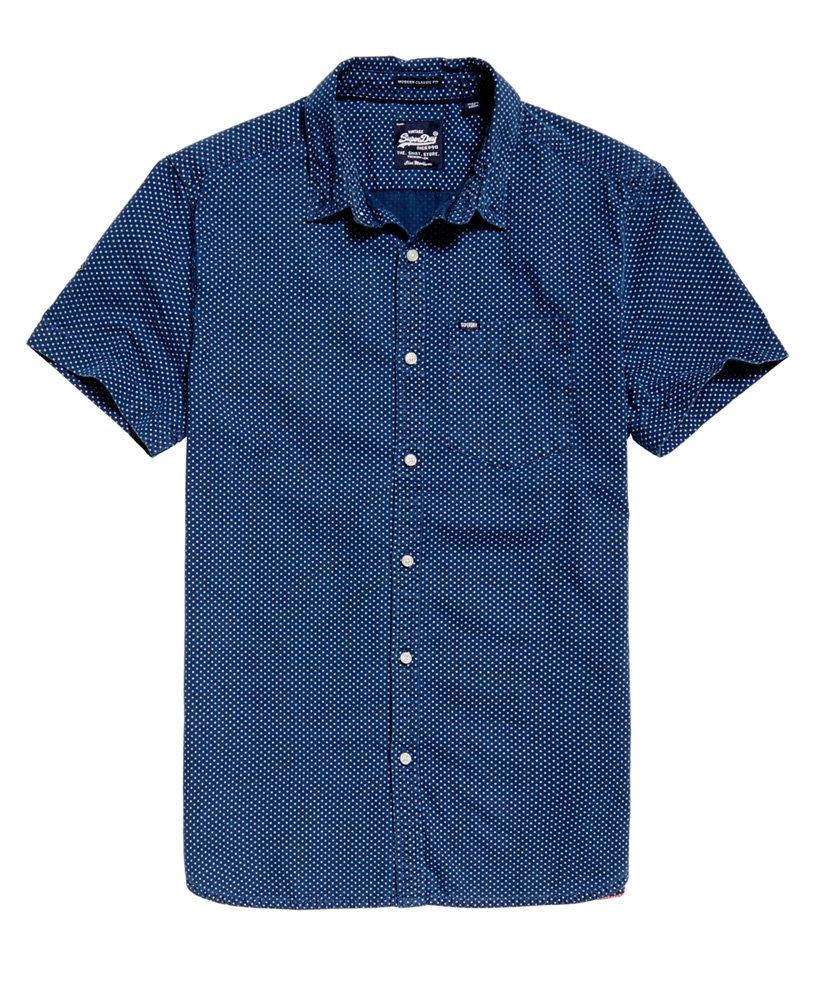 Superdry London Loom kortermet skjorte Herre Sale Shirts