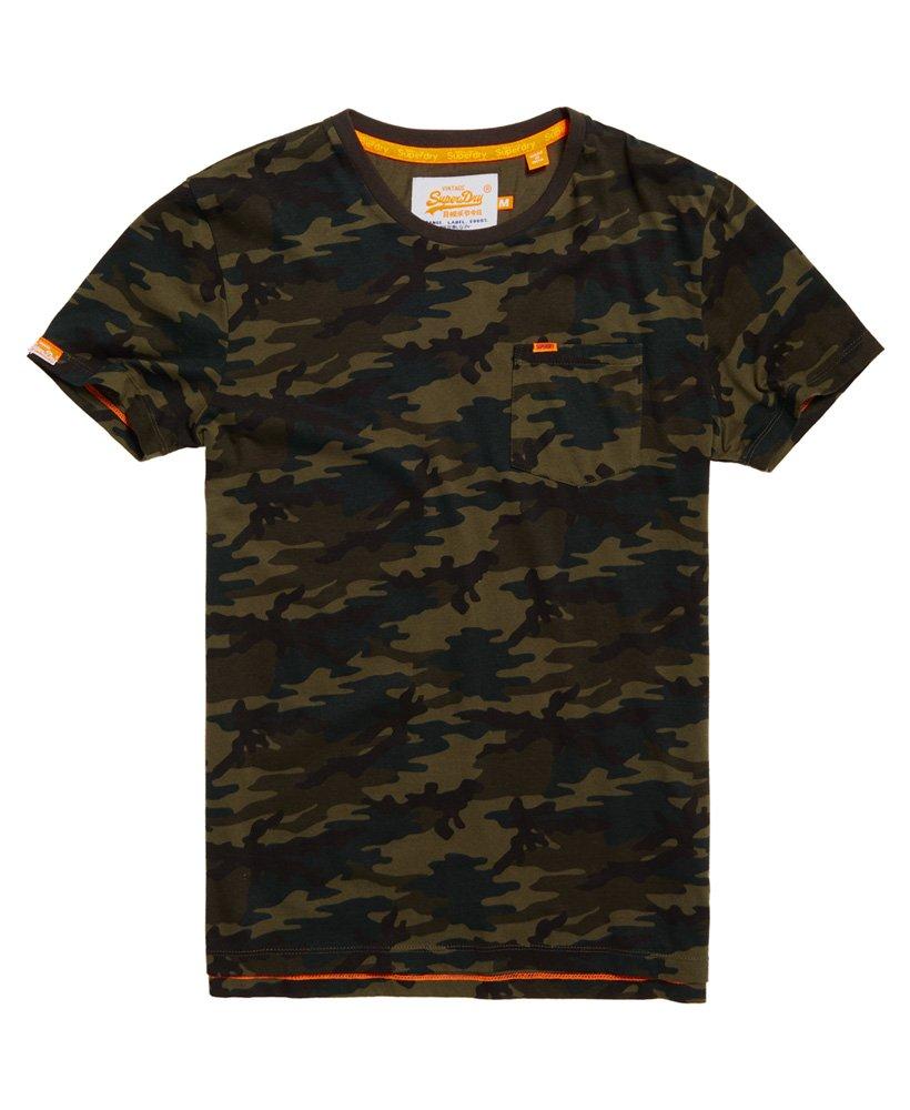Superdry Orange Label Camo Pocket T-shirt