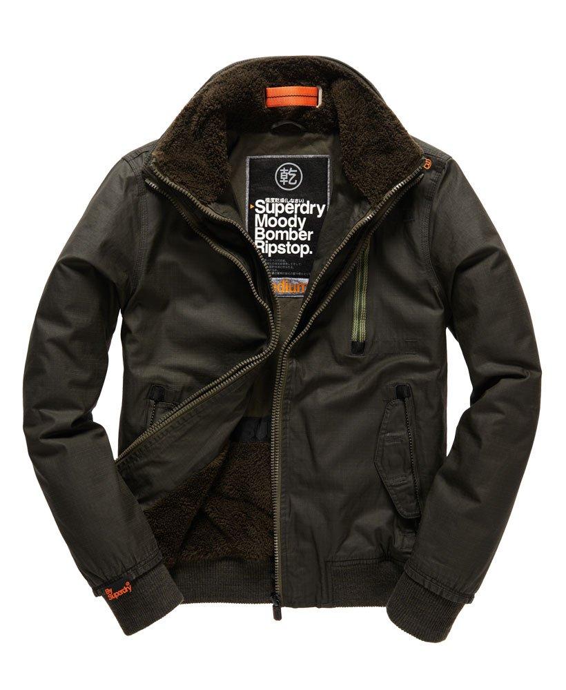 b39e50ff1 Superdry Moody Ripstop Bomber Jacket - Men's Jackets