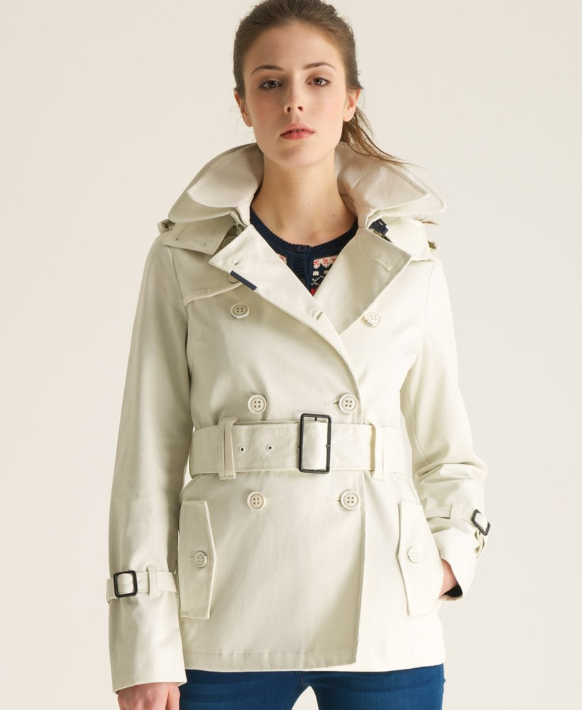 Superdry Cropped Hooded Raincoat