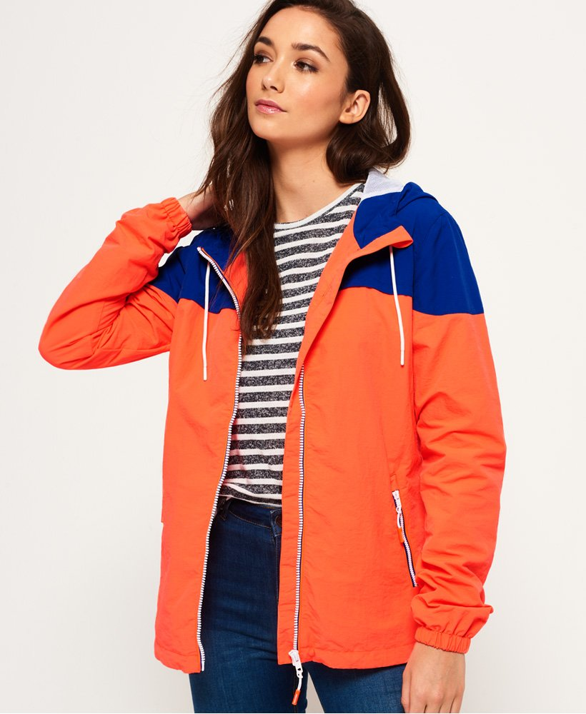 Couleur Imperméable Blocs À Superdry De Veste YOXqF