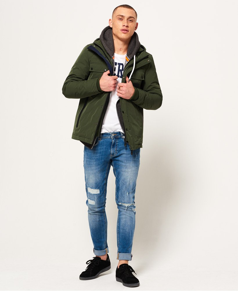 official store reliable quality elegant in style Superdry Vessel Jacket for Mens
