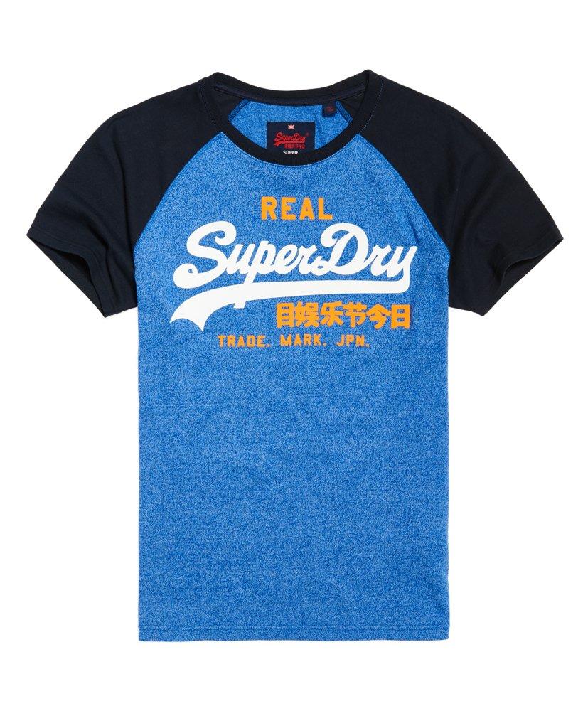 Superdry Vintage Logo Raglan T-shirt 0