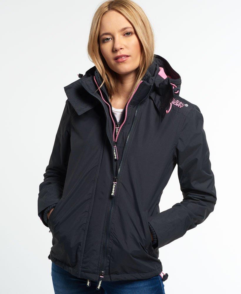 202a7a1ba9f3 Womens - Pop Zip Hooded Arctic SD-Windcheater Jacket in Dark ...