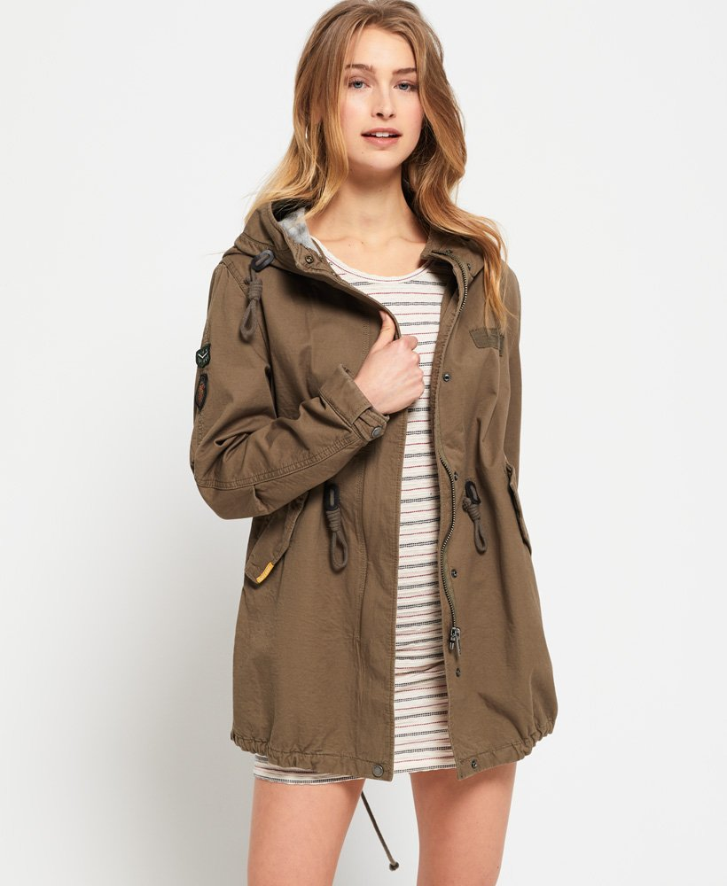Superdry Bonded Rookie Parka Jacket