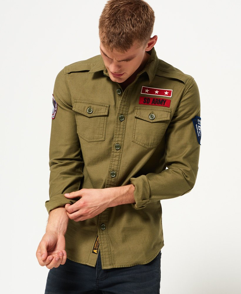 Superdry Army Corps Long Sleeve Shirt