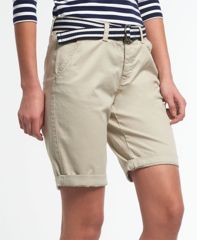 superdry city shorts womens