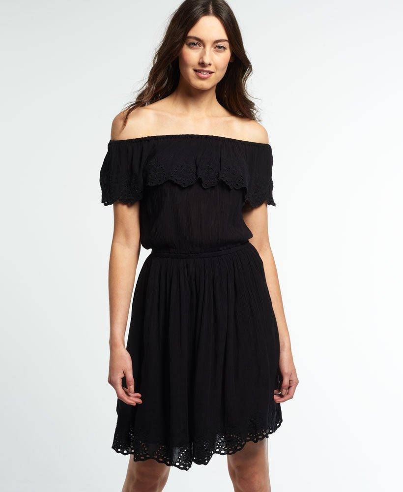 Superdry Vestido mini Schiffli Frill