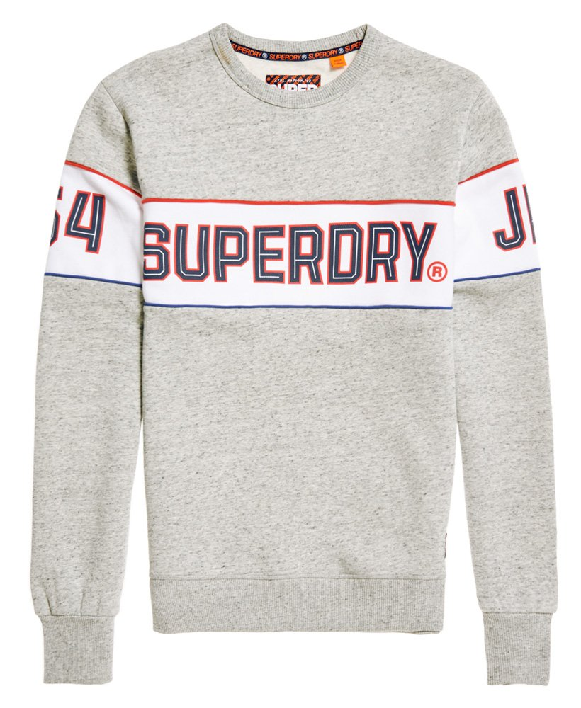 sports shoes 8d5b0 a6102 Superdry Retro Sweatshirt mit Streifen - Herren Pullover