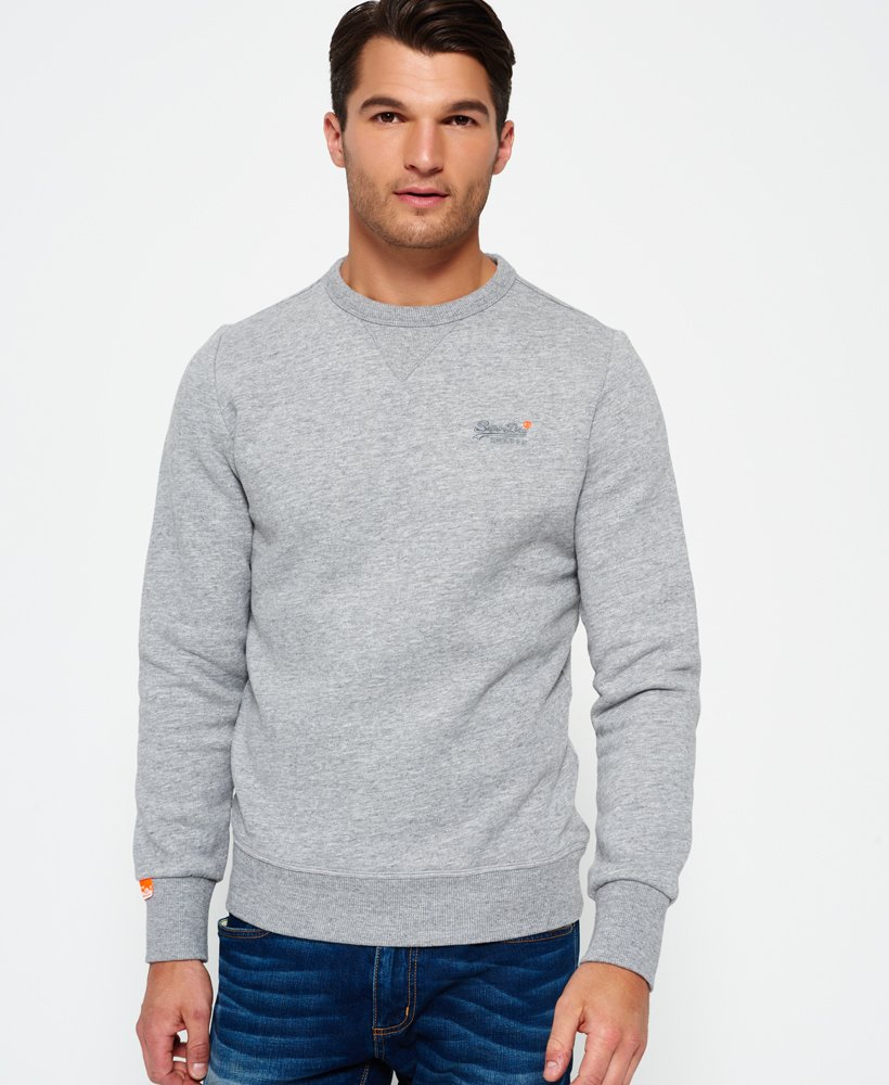 Superdry Pull en coton à col rond Orange Label Pulls