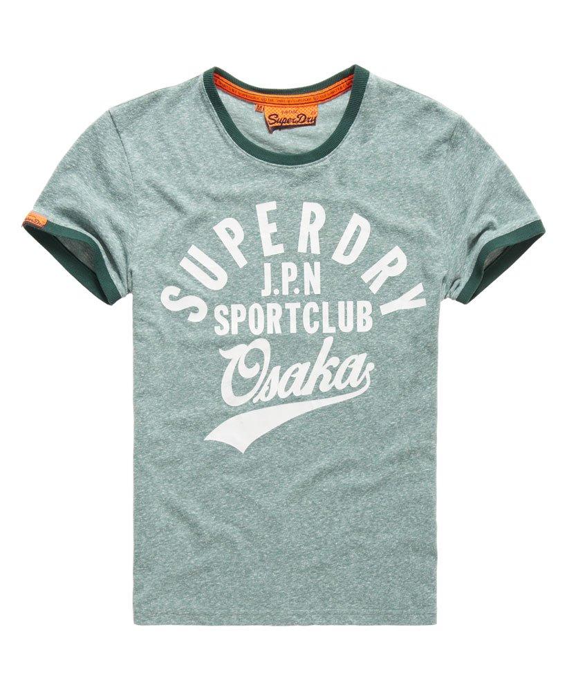 891ce4ec Mens - Sport Club T-shirt in Deep Forest Snowy Marl   Superdry