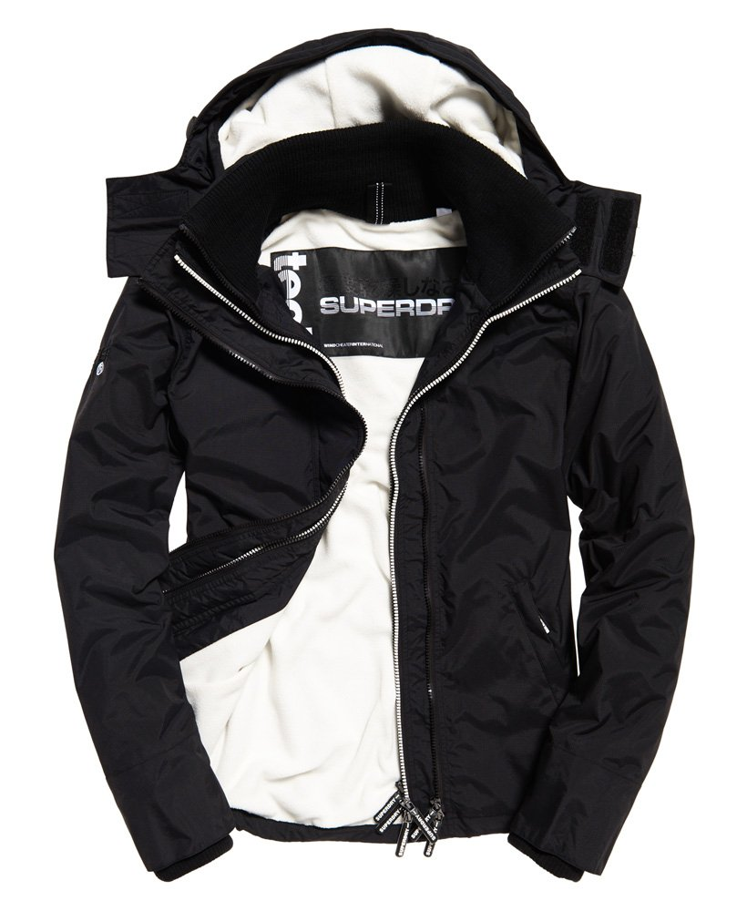Superdry Jacket Windcheater Regular Fit Black